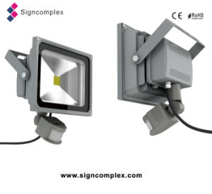 50W Infrared and Light Detected LED Flood Light pictures & photos
