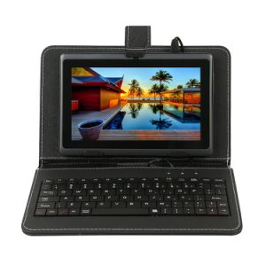 OEM ODM 7 Inch Android Quad Core Kids Mini Tablet PC with Keyboard Case Black pictures & photos