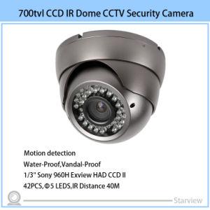 CCTV Cameras Suppliers 700tvl CCD IR Dome CCTV Security Camera pictures & photos
