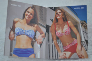 Rich Colorly Brochure Tag for Bikini Suit pictures & photos