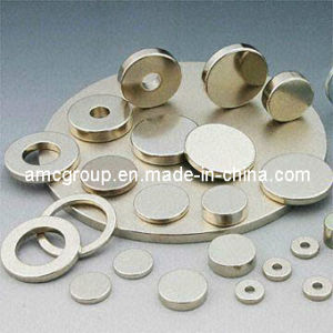 High Quality Disc with Central Hole SmCo Magnet pictures & photos