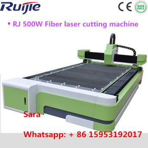 China Water Cooling 500W 1000W Fiber Laser Cutting Machine with CE and FDA Certificate 500W Metal Fiber Laser Cutting Machine pictures & photos
