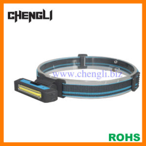 USB Rechargeable COB LED Headlight (LA1228)
