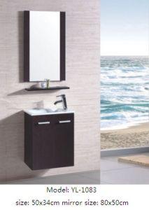 Bathroom Cabinet with Ceramic Basin with Mirror