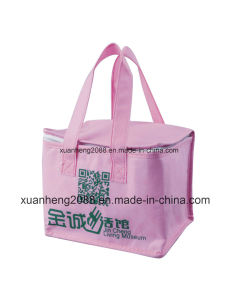 Cheap Insulated Nonwoven Cooler Bag for Picnic Frozen Food Lunch pictures & photos