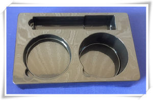 Black PVC Blister Tray for Cosmestic Set Plastic PVC Blister Tray pictures & photos