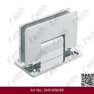 Frameless Glass Shower Door Hinge for Bathroom Fitting (SHR. 90W. BR) pictures & photos