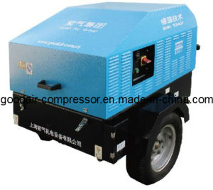 Used Air Compressor Diesel 45kw 7bar pictures & photos