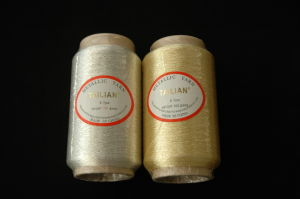 450d Pure Gold Metallic Yarn pictures & photos