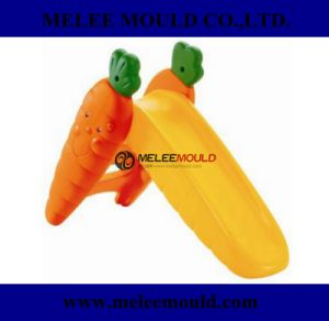 Yellow Toddler Indoor Plastic Toy Slides Mould pictures & photos