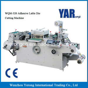 Low Pricew Wqm Series Adhesive Label Die-Cutting Machine with Ce pictures & photos