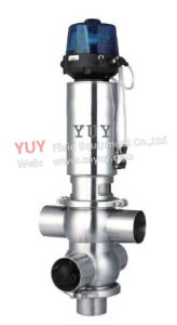 Stainless Steel Sanitary Mix Proof Valve
