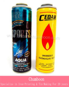 Gas Lighter Aerosol Can (Dia 52mm)