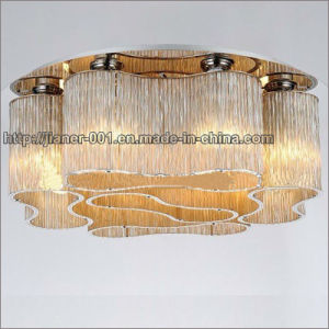 Cognac Modern Crystal Ceiling Lamp Lighting for Living Room pictures & photos