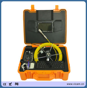 Portable 7′′ TFT 20m Pipe Gas Oil Inspection Camera V7-3188kc pictures & photos