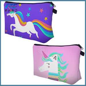Leather Portable Cute Little Women Unicorn Coin Purse pictures & photos