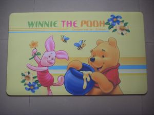 Velour Fabric Door Mats With Full Colour pictures & photos