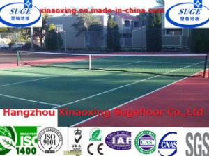 Custom Comfortable Tennis Court Flooring Tiles pictures & photos