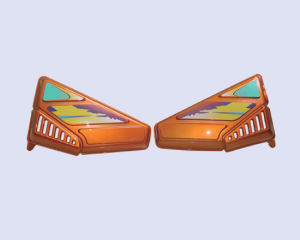 Fairing Plastic Cover for Motorcycle (HDSP-D03)