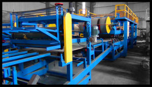 Cold Room Sandwich EPS Panel Production Line Roll Forming Machine pictures & photos