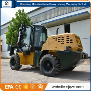 4*4 Drive All Rough Terrain Forklift Price for Sale pictures & photos