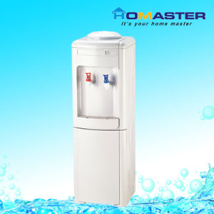 Vertical White Water Dispenser with Hot and Cold (VA) pictures & photos