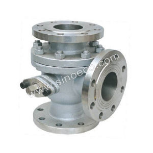 Stainless Steel Flanged Tee Ball Valve pictures & photos