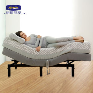 Home Furniture Electric Adjustable Bed Wireless Handset pictures & photos