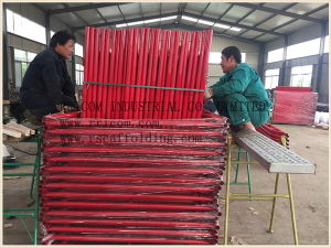 Q235 Steel Scaffold Frame for Both Inside and Outside Building Construction pictures & photos