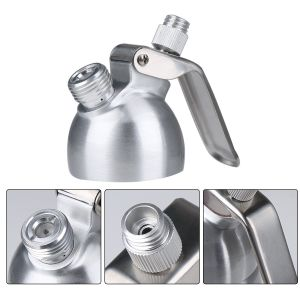 Stainless Steel Whipped Cream Dispenser with 3 Decorating Nozzles pictures & photos