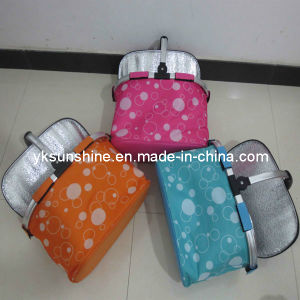 Folding Shopping Basket with Cooler Bag (XY-310C) pictures & photos