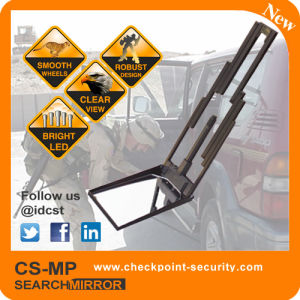 Compact Under Vehicle Search Mirror for Vehicle or Airplane Eod Working