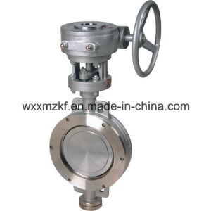 Stainless Steel Hard-Sealed Butterfly Valve pictures & photos