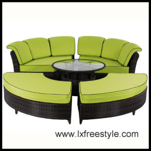 Long Using PE Outdoor Rattan Furniture with SGS Certification