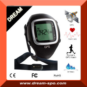 Professional GPS Watch Ant+ 2.4GHz GPS Training Watch with Heart Rate, Cadence, Speed Sensor