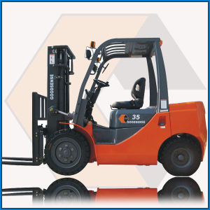 3.5t Diesel Forklift with Engine with CE pictures & photos
