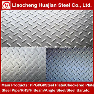 A36 Hot Rolled Mild Checker Steel Plate for Floor pictures & photos