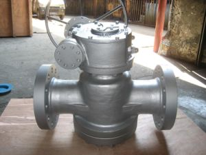 High Pressure Plug Valve 600lb Flange End