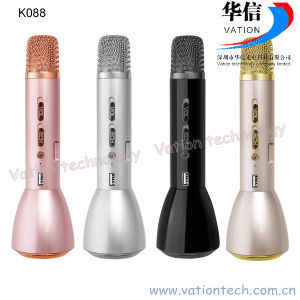 K088 Handheld Mini Karaoke Microphone Player, Bluetooth Function pictures & photos