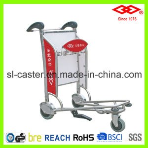 250kg Stainless Steel Airport Trolley (GC-250) pictures & photos