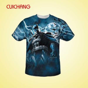 Fashion Sublimation Printing T-Shirt, Custom Sportsware, Good Quality T-Shirts pictures & photos