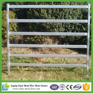 2.1m 6 Oval Rails Used Cattle Panel for Australia Market pictures & photos
