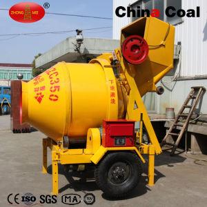 Jzc350-B Self Loading Mobile Concrete Mixer with Pump pictures & photos