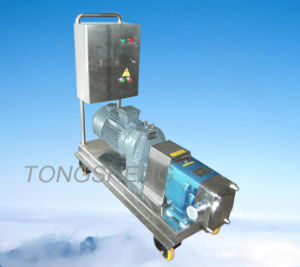 Sanitary Stainless Steel Tri-Lobe Rotor Pump