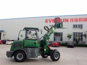 Everun 1.5 Ton Ce Telescopic Wheel Loader with 4.2m Reach pictures & photos