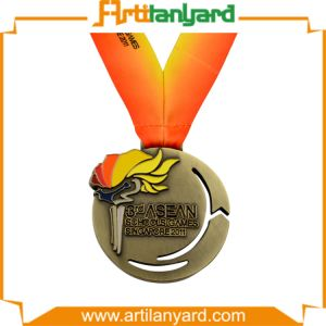 Customized Design Misty Copper Metal Medal pictures & photos