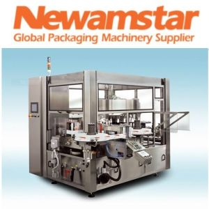 Hot Melt Glue Roll-Fed Labeling Machine pictures & photos