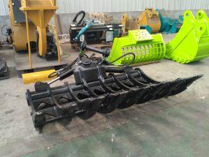 Rake Bucket Excavator Tilt Root Rake Hydraulic Root Rake pictures & photos