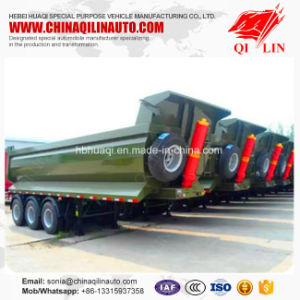 Wholesale Utility 12 Wheels Tipper Truck Semi Trailer pictures & photos