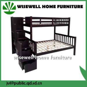 Wood Twin Full Bunk Bed with Stair and Drawer (WJZ-B715) pictures & photos